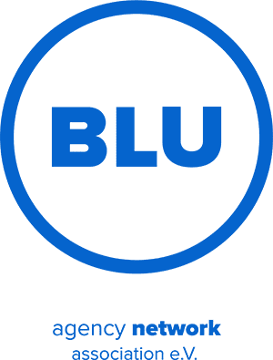 BLU agency network Logo